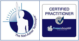 certified practitioner of The Neil-Asher Technique for frozen shoulder